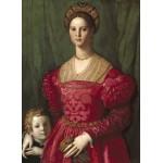Puzzle  Grafika-01702 Agnolo Bronzino : Jeune Femme et Son Petit Garçon, 1540