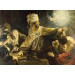 Puzzle  Grafika-01734 Rembrandt - Le Festin de Balthazar, 1636-1638