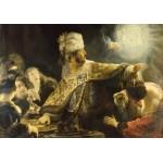 Puzzle  Grafika-01735 Rembrandt - Le Festin de Balthazar, 1636-1638