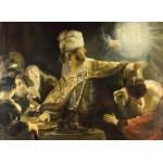 Puzzle  Grafika-01736 Rembrandt - Le Festin de Balthazar, 1636-1638