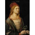 Puzzle  Grafika-01738 Albrecht Dürer - Auto-Portrait, 1493