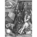 Puzzle  Grafika-01740 Albrecht Dürer - Melancholia, 1514