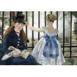 Puzzle  Grafika-01743 Edouard Manet : Le Chemin de Fer, 1873
