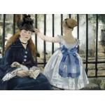 Puzzle  Grafika-01744 Edouard Manet : Le Chemin de Fer, 1873