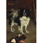 Puzzle  Grafika-01746 Edouard Manet : Tama : Le Chien Japonais, 1875