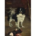 Puzzle  Grafika-01747 Edouard Manet : Tama : Le Chien Japonais, 1875