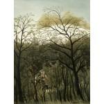 Puzzle  Grafika-01753 Henri Rousseau : Rendez-Vous dans la Forêt, 1889