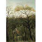 Puzzle  Grafika-01754 Henri Rousseau : Rendez-Vous dans la Forêt, 1889