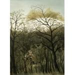 Puzzle  Grafika-01755 Henri Rousseau : Rendez-Vous dans la Forêt, 1889