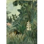 Puzzle  Grafika-01757 Henri Rousseau : La Jungle Equatoriale, 1909