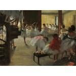 Puzzle  Grafika-01759 Edgar Degas : La Classe de Danse, 1873