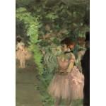 Puzzle  Grafika-01763 Edgar Degas : Danseuse en Coulisse, 1876/1883
