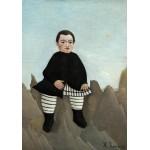 Puzzle  Grafika-01799 Henri Rousseau : Garçon sur un Rocher, 1895/1897