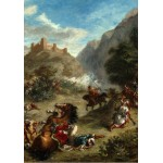 Puzzle  Grafika-01802 Eugène Delacroix : Arabes tiraillés dans les montagnes