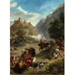 Puzzle  Grafika-01803 Eugène Delacroix : Arabes tiraillés dans les montagnes