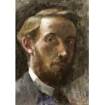 Puzzle  Grafika-01807 Edouard Vuillard : Autoportrait à l'Age de 21 ans, 1889