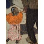 Puzzle  Grafika-01809 Edouard Vuillard : Enfant portant un foulard rouge, 1891