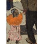 Puzzle  Grafika-01810 Edouard Vuillard : Enfant portant un foulard rouge, 1891