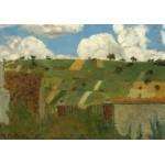 Puzzle  Grafika-01813 Edouard Vuillard : Paysage d'Ile de France, 1894