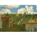 Puzzle  Grafika-01814 Edouard Vuillard : Paysage d'Ile de France, 1894