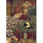 Puzzle  Grafika-01819 Edouard Vuillard : Femme dans une robe rayée, 1895