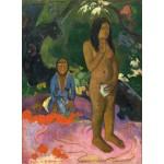 Puzzle  Grafika-01827 Paul Gauguin : Parau na te Varua ino (Mots du Diable), 1892
