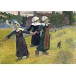 Puzzle  Grafika-01831 Gauguin Paul : Danse Bretonne des Filles à Pont Aven, 1888