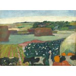 Puzzle  Grafika-01833 Paul Gauguin : Meules de Foin en Bretagne, 1890