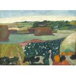 Puzzle  Grafika-01835 Paul Gauguin : Meules de Foin en Bretagne, 1890