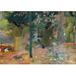 Puzzle  Grafika-01842 Paul Gauguin : Les Baigneuses, 1897
