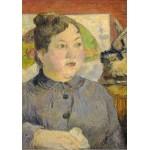 Puzzle  Grafika-01845 Paul Gauguin : Madame Alexandre Kohler, 1887-1888