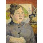 Puzzle  Grafika-01846 Paul Gauguin : Madame Alexandre Kohler, 1887-1888