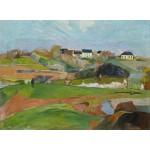 Puzzle  Grafika-01847 Paul Gauguin : Le Pouldu, 1890