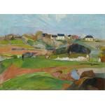 Puzzle  Grafika-01849 Paul Gauguin : Paysage à Pouldu, 1890