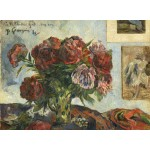 Puzzle  Grafika-01856 Paul Gauguin : Nature Morte avec Pivoines, 1884