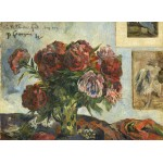 Puzzle  Grafika-01858 Paul Gauguin : Nature Morte avec Pivoines, 1884