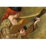 Puzzle  Grafika-01868 Auguste Renoir : Jeune Femme Espagnole avec une Guitare, 1898