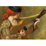 Puzzle  Grafika-01869 Auguste Renoir : Jeune Femme Espagnole avec une Guitare, 1898