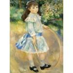 Puzzle  Grafika-01870 Auguste Renoir : Fillette au cerceau, 1885