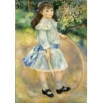 Puzzle  Grafika-01871 Auguste Renoir : Fillette au cerceau, 1885