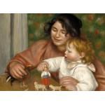 Puzzle  Grafika-01877 Auguste Renoir : Gabrielle et le Fils de l'Artiste, Jean, 1895-1896