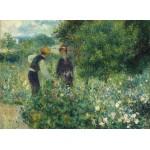 Puzzle  Grafika-01893 Auguste Renoir : Cueillette de Fleurs, 1875
