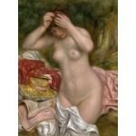 Puzzle  Grafika-01897 Auguste Renoir : Baigneuse Arrangeant Ses Cheveux, 1893