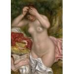 Puzzle  Grafika-01898 Auguste Renoir : Baigneuse Arrangeant Ses Cheveux, 1893