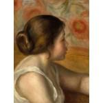 Puzzle  Grafika-01903 Auguste Renoir : Tête de Jeune Fille, 1890