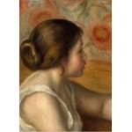 Puzzle  Grafika-01904 Auguste Renoir : Tête de Jeune Fille, 1890