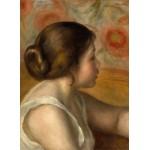 Puzzle  Grafika-01905 Auguste Renoir : Tête de Jeune Fille, 1890