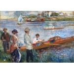 Puzzle  Grafika-01907 Auguste Renoir : Rameurs à Chatou, 1879