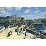Puzzle  Grafika-01910 Auguste Renoir : Pont Neuf, Paris, 1872