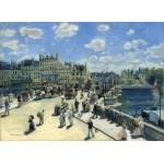 Puzzle  Grafika-01911 Auguste Renoir : Pont Neuf, Paris, 1872